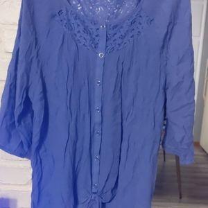 Tops - Button down shirt